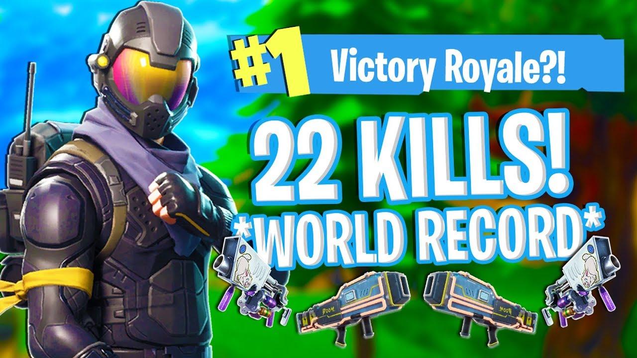 World Record Kill Streak In Fortnite Battle Royale Mobile 20