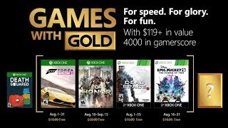 Xbox Games With Gold For August 2018  Are The Games Any Good?
