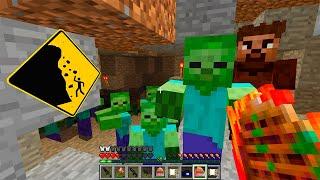 Шаман и Тайная Пещера! День 124. Зомби Апокалипсис в Майнкрафт