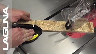 Laguna Tools Fusion Tablesaw Setup - Using The Bevel Feature - Part 16 Of 18