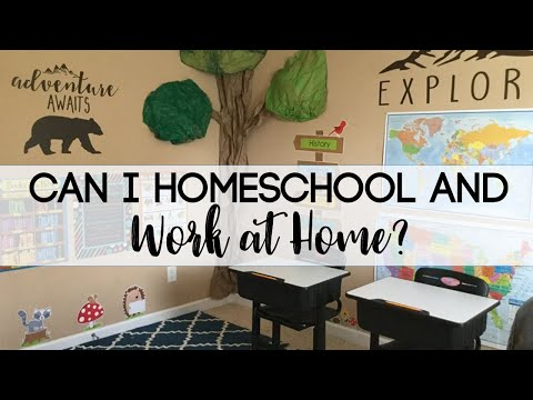 Homeschooling and Working - How We Make it Work with Our Home Business!