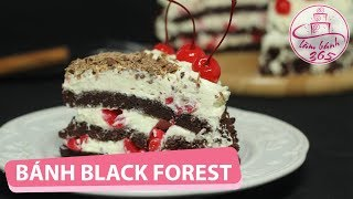 LÀM BÁNH 365 | Cách làm bánh Black Forest ngon mê hoặc