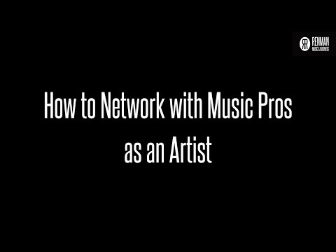 Networking with Music Industry Pros as an Artist on Ask Renman Live