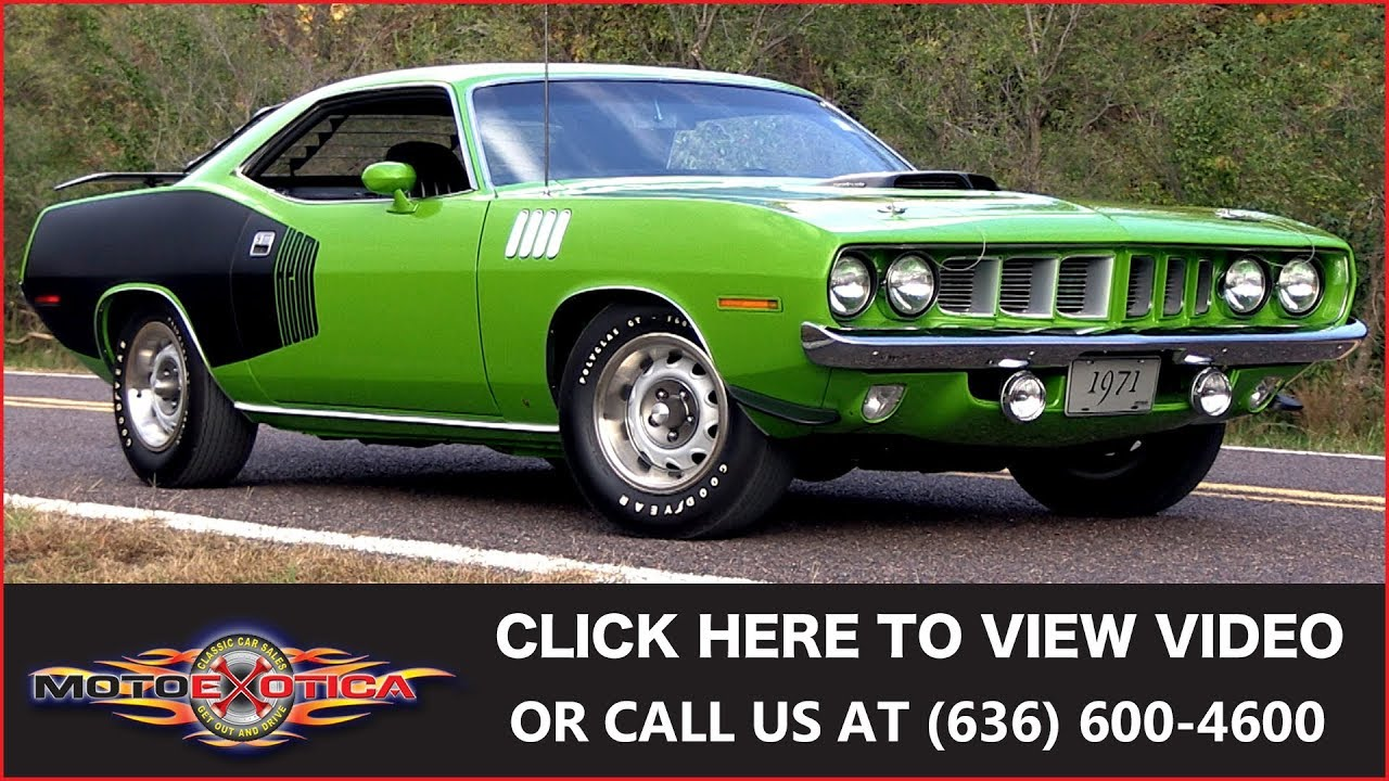 1971 Plymouth Hemi Cuda from Gas Monkey Garage || SOLD