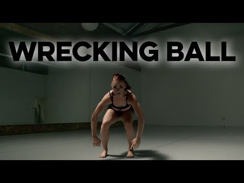 Miley Cyrus Caked Up Remix - Wrecking Ball || Meghan Sanett Choreography