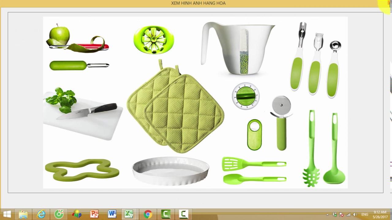 Hiển thị hình ảnh Vật tư – Hàng hóa trên Phần mềm Quản lý kho bán hàng PRO