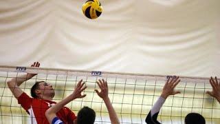 Красивая и результативная комбинация в волейболе