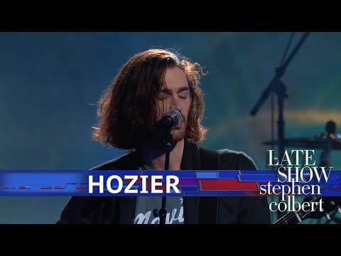 Watch Hozier Perform 'Almost (Sweet Music)' On 'Late Show With Stephen Colbert'