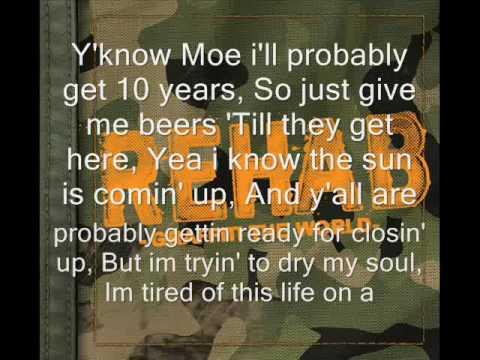 Rehab Bartender Song With Lyrics
