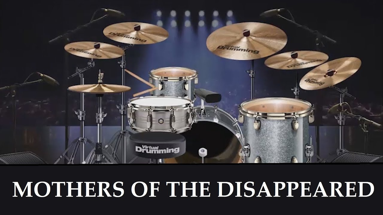 #17 ME playing U2's MOTHERS OF THE DISAPPEARED on VIRTUALDRUMMING.COM