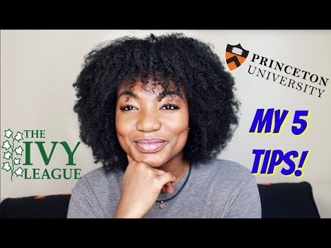 How I Got Into Princeton University! + GIVEAWAY