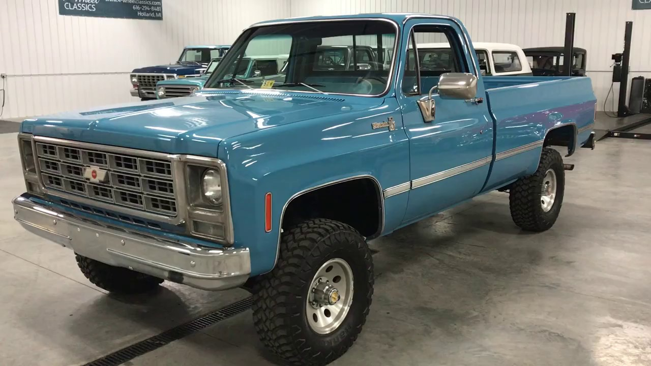 All Chevy 1980 chevy k10 : 1979 Chevy K10 Silverado - YouTube