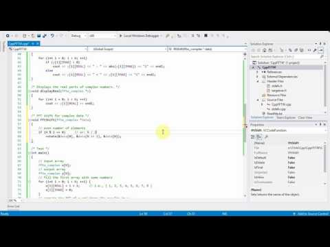 C++ Tutorial: Writing an fftShift function for the FFTW library