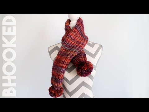 How to Knit a Scarf for Beginners - Easy Knit Scarf