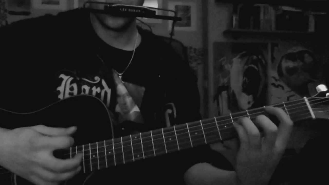 The Dragonborn Comes Guitar Harmonica Tabs Skyrim Theme Youtube
