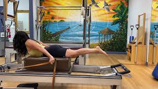 45 minute Pilates Reformer workout