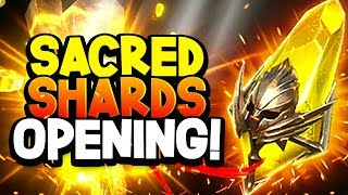 RAID Shadow Legends: MY FIRST LEGENDARY CHAMPION! Sacred Shard Opening!