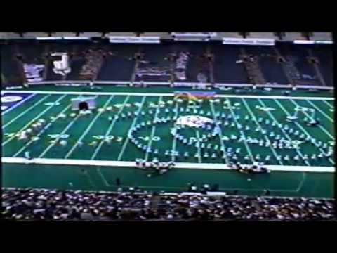 F.J. Reitz High School Marching Band 1998 - Ghost Train - ISSMA State Finals 5th place