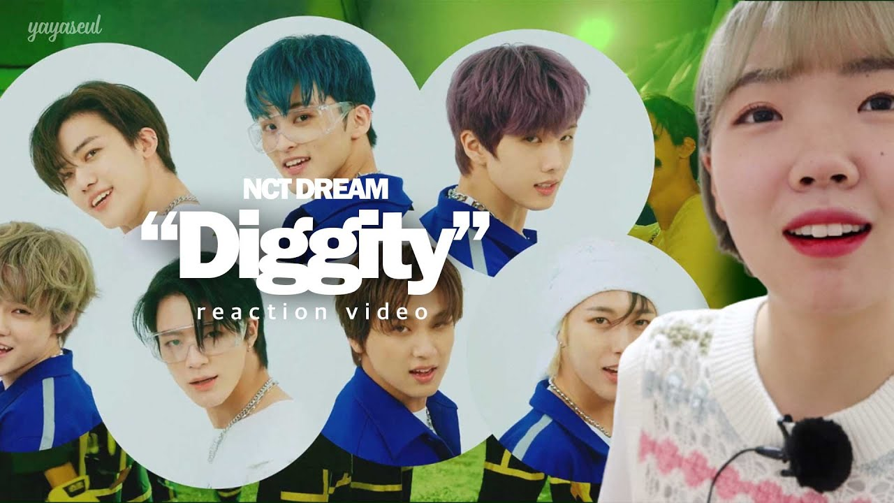 야슬 덕질┃고글 마크?! 이거거든~😎 【NCT DREAM  - Diggity Reaction / 엔시티드림 / 시즈니 리액션】