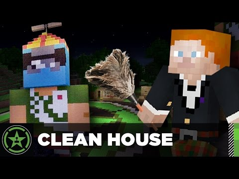 Let's Play Minecraft - Episode 189 - Clean House