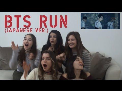 BTS - RUN (Japanese Ver.) MV REACTION