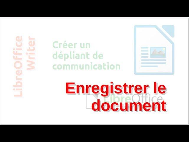 Un dépliant de communication avec LibreOffice Writer #6