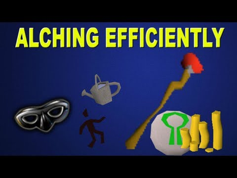 OSRS - How To Alch Efficiently! Tips For Alching In Oldschool Runescape!