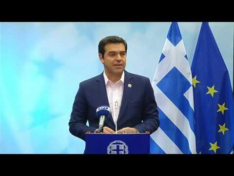 Alexis Tsipras press conference following European Council [21/10/2016]