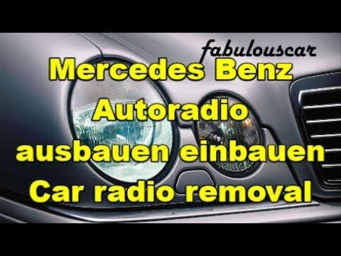 autoradio radio ausbauen einbauen car radio removal. Black Bedroom Furniture Sets. Home Design Ideas