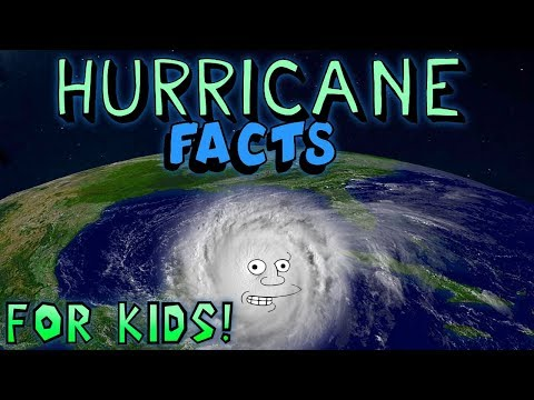 Hurricane Facts for Kids! - YouTube