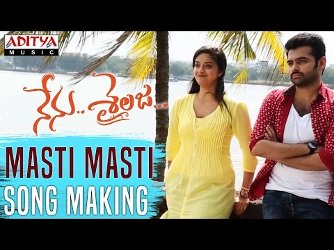 Masti Masti Song Making Video || Nenu Sailaja Telugu Movie || Ram, Keerthy Suresh,Devi Sri Prasad ||