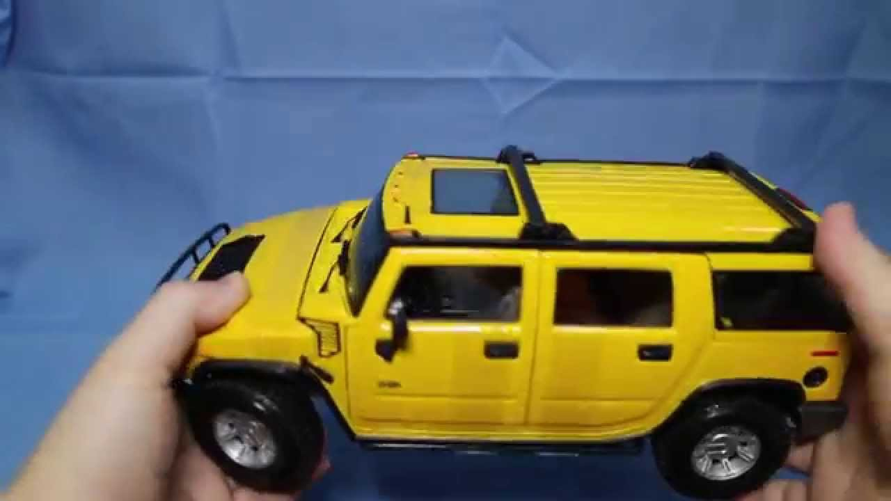 Maisto 2003 Hummer H2 Premiere Edition 1:18 Scale Unbox - YouTube