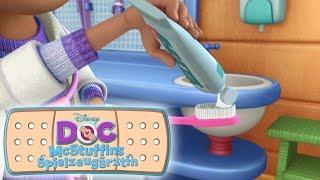 """Doc Mc Stuffins """"Zähne putzen"""" - spielerisch lernen mit Disney Junior"""