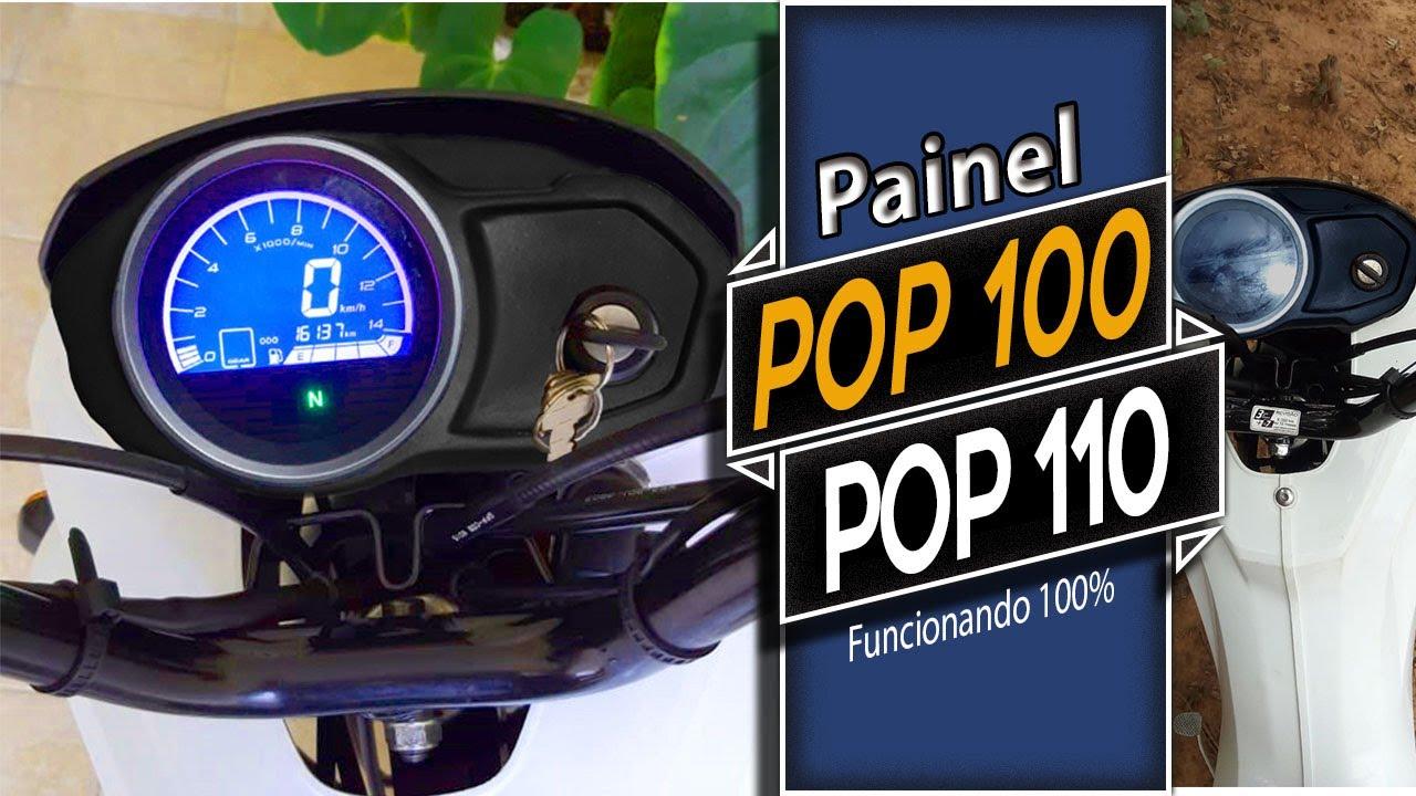 Painel digital universal honda pop 100 110 110i