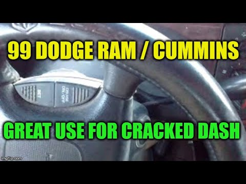Making Use Of The 2nd Gen Dodge Cracked Dash