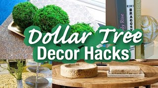 DIY Dollar Tree Luxe Decor Hacks Inspired By Restoration Hardware | Home Decor Ideas