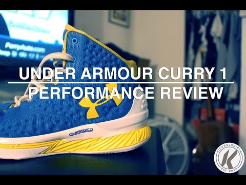 23702477e499 Under Armour Curry 1 Performance Review