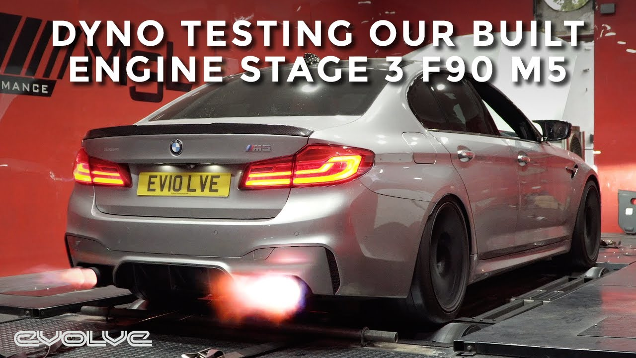 Dyno Testing + Tuning our Stage 3 Built Engine F90 M5 - Can we hit 1000hp?