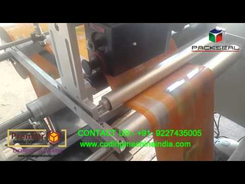 batch printing machine, winder rewinder with high speed batch printing,  exp date printer