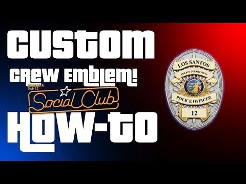 How To - Custom Crew Emblem GTA Online   Vector Tutorial