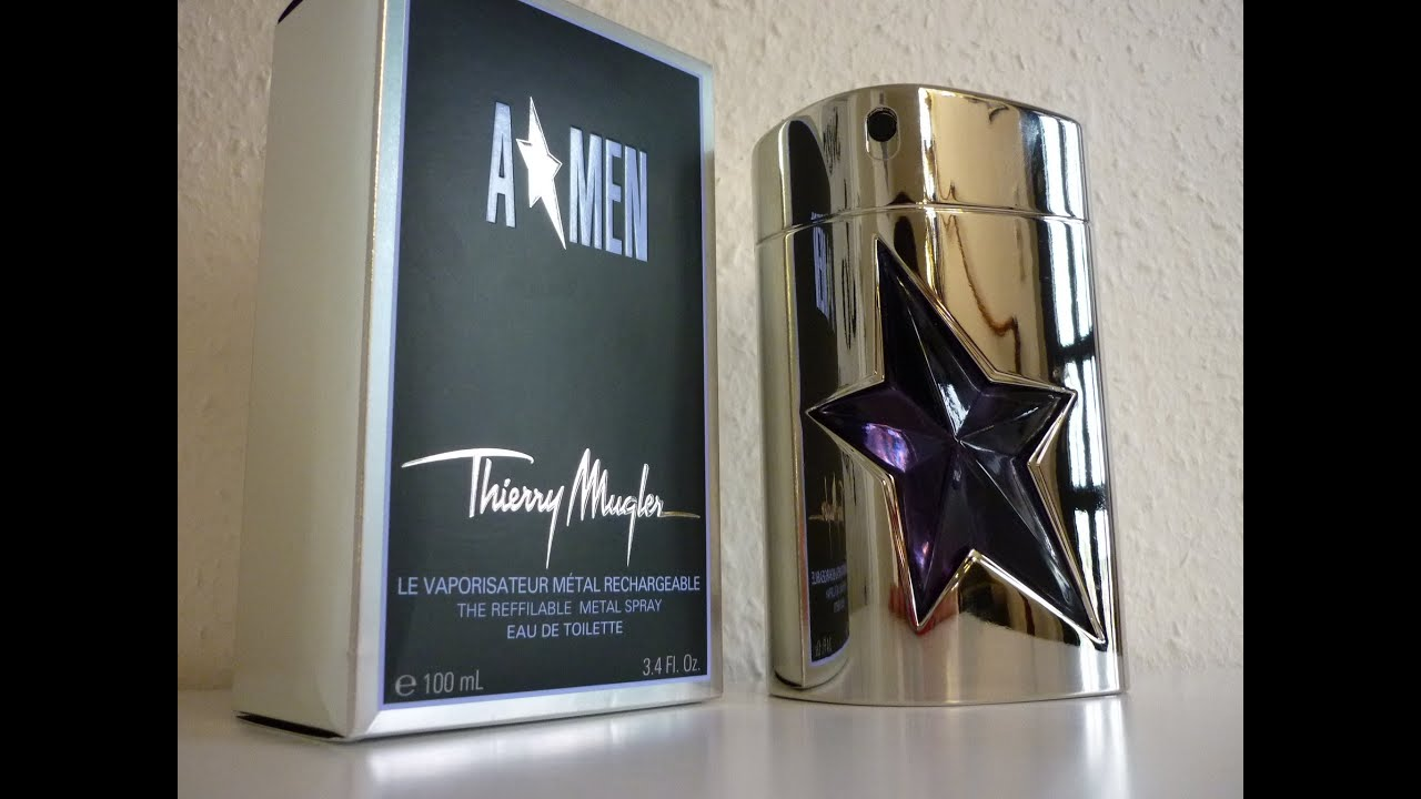 a men angel men thierry mugler review english youtube. Black Bedroom Furniture Sets. Home Design Ideas