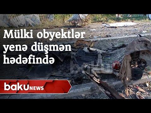 Düşmən yenə mülki obyektləri hədəf aldı - Baku TV
