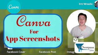 How to Use Canva to Create App Screenshots and Increase App Downloads : UK App Creators