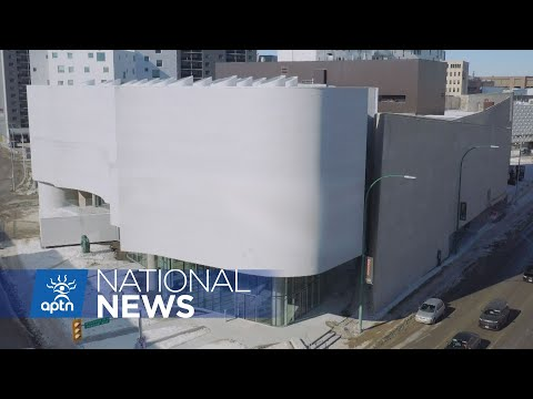 Sneak peek inside new Inuit art centre opening at the Winnipeg Art Gallery | APTN News