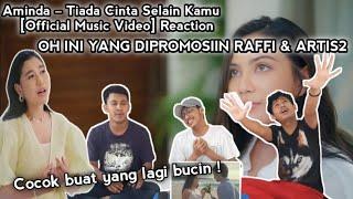 Aminda – Tiada Cinta Selain Kamu [Official Music Video] Reaction | OH INI YANG DI PROMOSIIN ARTIS2 !