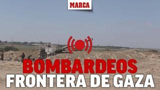Conflicto israelí-palestino: DIRECTO I Movimientos militares en la frontera de Gaza e Israel