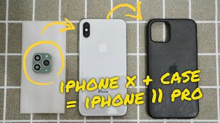 iPhone X Convert to iPhone 11 Pro (XR to iPhone 11) (XS Max to iPhone 11 Pro Max)
