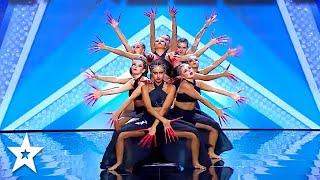 SPECTACULAR Dance Group Get GOLDEN BUZZER on Got Talent Italia   Got Talent Global