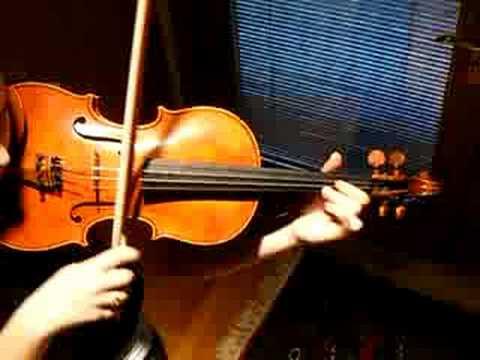 Fine Violin by S. Cao, Sound Sample, Haydn G Major