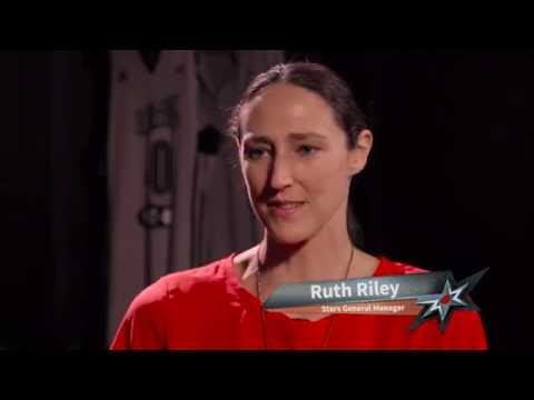 Rachel Santschi talks with Ruth Riley